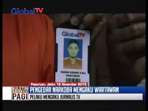 Mengaku Wartawan TV Nasional Gadungan Untuk Transaksi Sabu - BIP 20/11