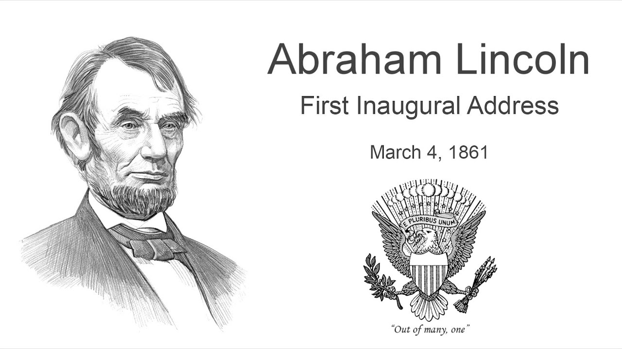 analysis of lincolns first inaugural address I believe that lincoln's first inaugural address was a genuine attempt by the president elect, to give pause to those who had already assumed that his incoming administration was going to take.