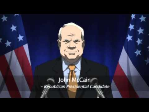 The Boondocks - Republicans Try To Discredit Obama video