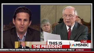 """MSNBC: Schatz Slams Jeff Sessions On """"Island in the Pacific"""" Remark"""