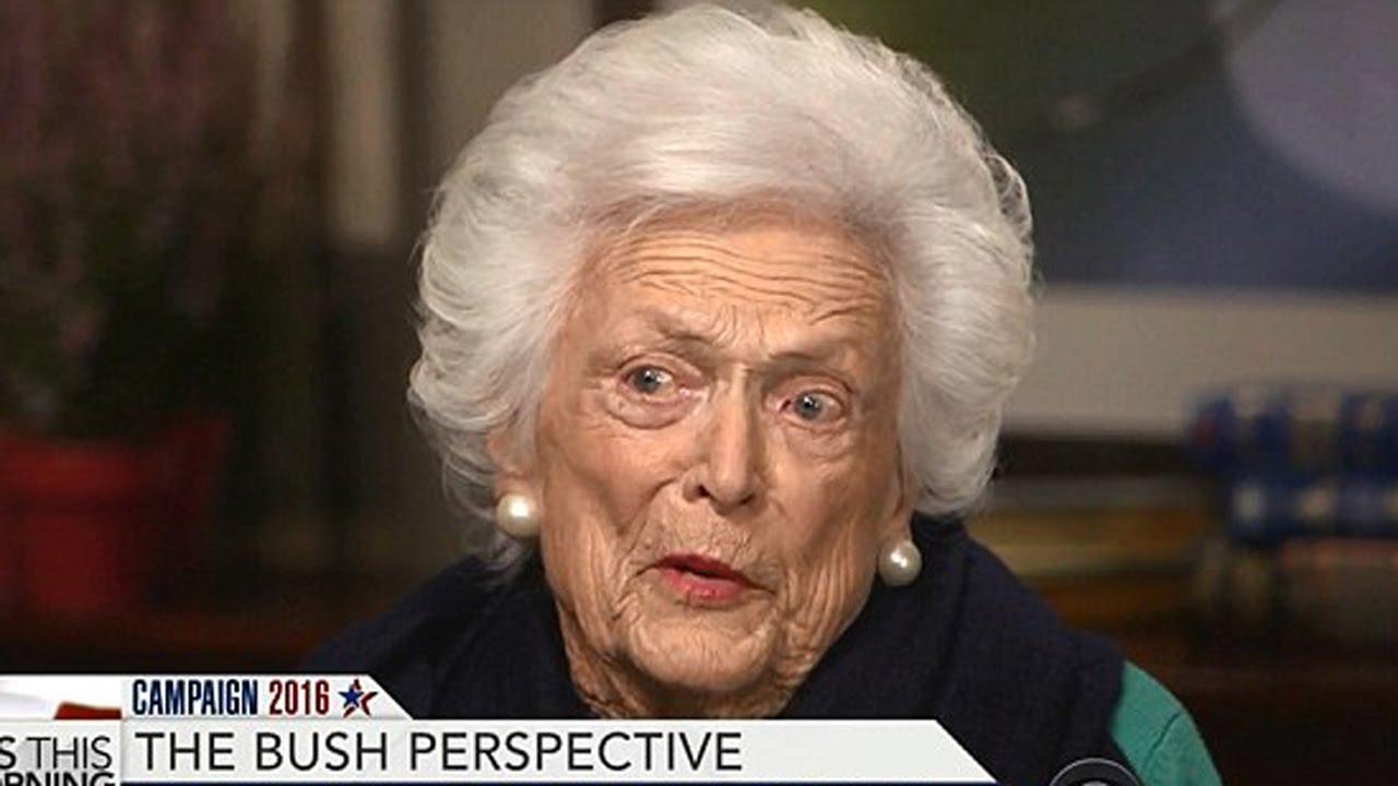 Barbara Bush Attacks Trump