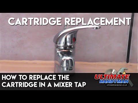 Bathroom faucet cartridge