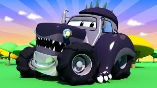 những chiếc xe tải dành cho thiếu nhi - Ben la2 Godzila - cửa hàng sơn của Tom 🎨 phim hoạt hình về