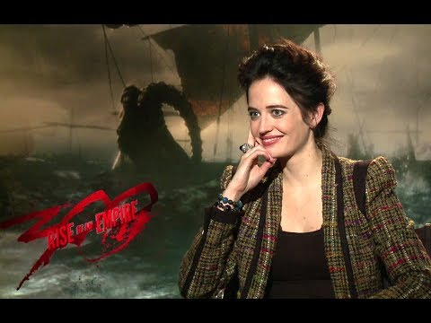 Eva Green Interview - 300: Rise of an Empire (2014) JoBlo.com HD