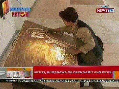 0 - News: BT: Artist sa Iloilo, gumagawa ng obra gamit ang putik - Philippine Daily News