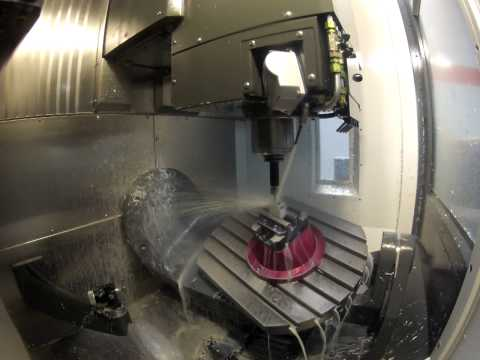 Haas UMC-750 GoPro Video