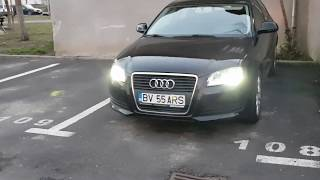 How to replace  Audi A3 8P DRL OEM Bulbs to LED