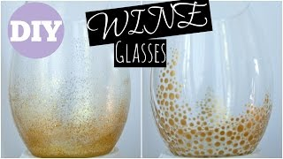 DIY - Wine Glasses