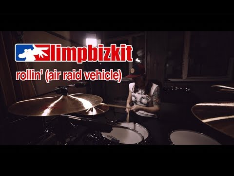 Limp Bizkit - Rollin' (Air Raid Vehicle) (drum cover by Vicky Fates)