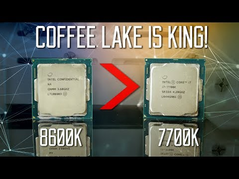 COFFEE LAKE IS HERE - RIP KABY LAKE & RYZEN - Intel i5-8600K Review