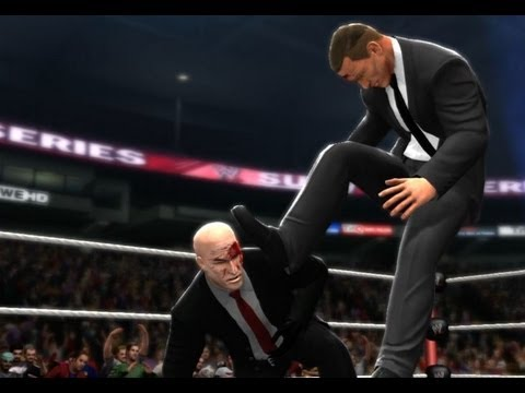 WWE 13 | James Bond vs Hitman (Agent 47)