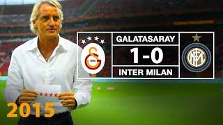 GSTV | Galatasaray 1-0 Inter Maçının Özeti ve Sneijder'in Golü