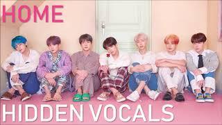 BTS - HOME (CLEAR Adora/Hidden/Background Vocals)