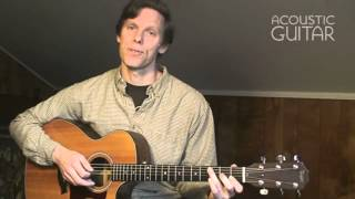 Cross-Picking lesson from Acoustic Guitar
