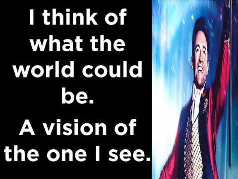 A Million Dreams  Ziv Zaifman, Hugh Jackman & Michelle Williams (Lyrics)