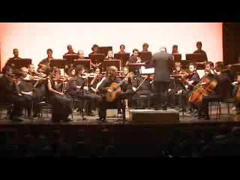 Rodrigo, 'Concierto de Aranjuez'. OCIM. David Russell