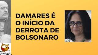 PASTORA DAMARES É O INÍCIO DE DERROTA DE BOLSONARO