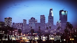 WALK THROUGH THE NIGHT - Old School Hip Hop Rap Beat Instrumental