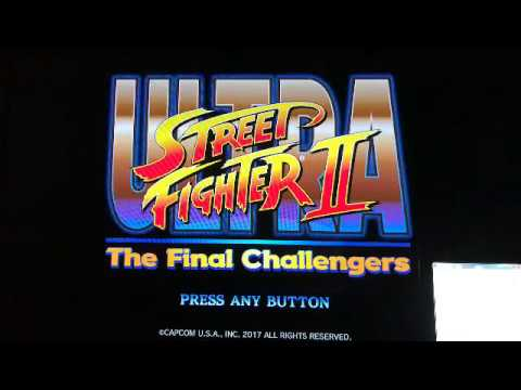 93年スト2 ターボチャンプによるウルトラストリートファイター2[USF2]Online Battle Play