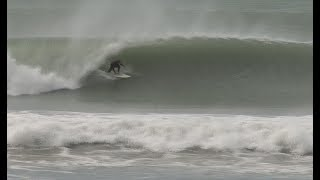 Windy Sunday  - Wainui Beach Pumping