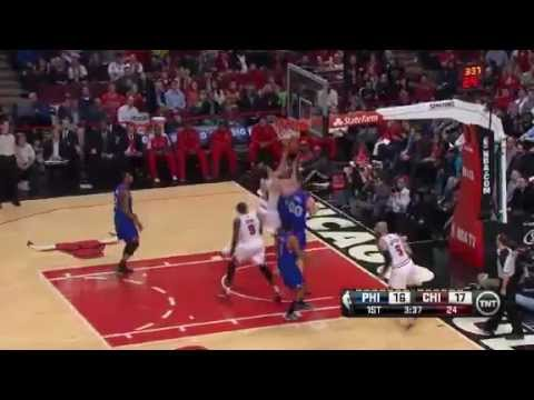 NBA CIRCLE - Philadelphia 76ers Vs Chicago Bulls Highlights 28 February 2013 www.nbacircle.com