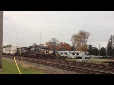 NS 21Z West, Zoomin' on By - Swanton, OH