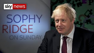 Leaked Treasury documents are 'wrong' says Boris Johnson