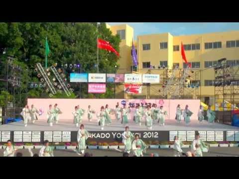 江戸の華 in 坂戸よさこい 2012