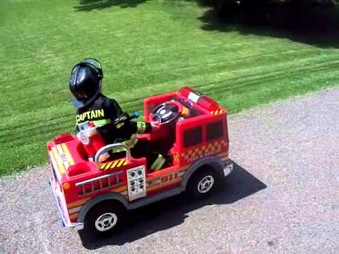 Power Wheels Monster Trucks Kids Power Wheels Fire Truck