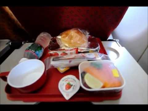 Air India Airbus 319-112 AI569 MAA - BOM  Breakfast