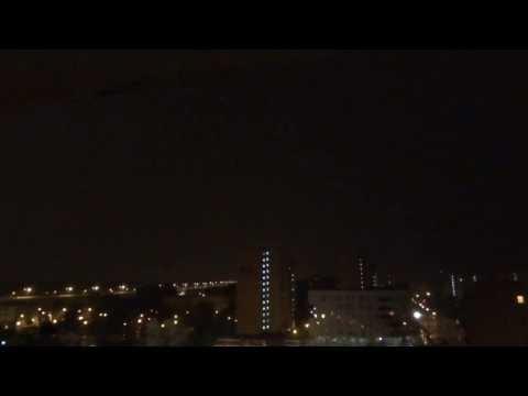 Potężna Burza W Warszawie -09.08.2013- Very Loud Thunderstorm Warsaw