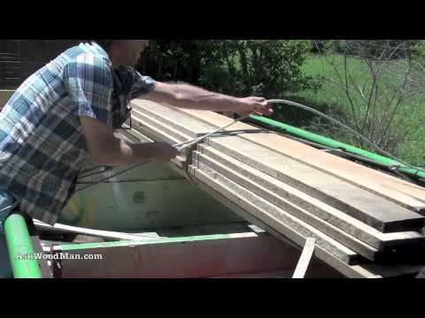 How to Tie Knots To Secure A Load For Transport -- KNOTS & ROPES 5 of 8