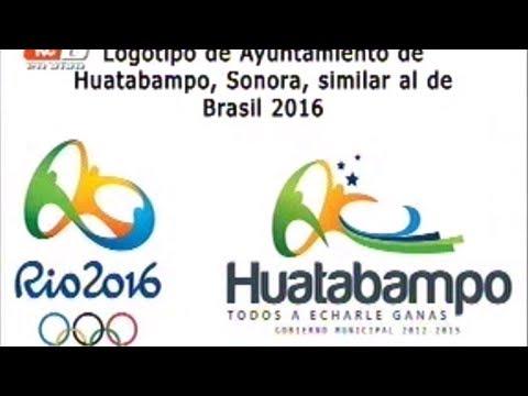 Acusan plagio por similitud entre logotipos de Río 2016 y Huatabampo, Sonora (19-09-2012)