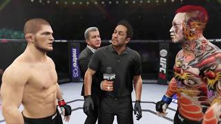 Khabib vs. Yakuza Killer (EA Sports UFC 2)