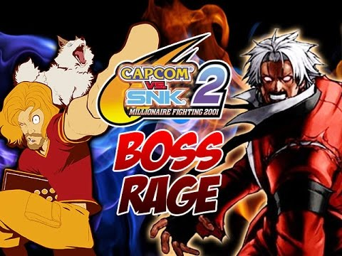 BOSS RAGE! Featuring GOD RUGAL & SHIN AKUMA (Capcom Vs. SNK 2)