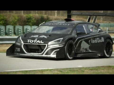The Peugeot 208 T16 Pikes Peak is a rocket!