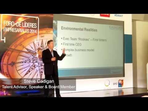 Conferencia Steve Cadigan - Foro de Líderes Empresariales 2014