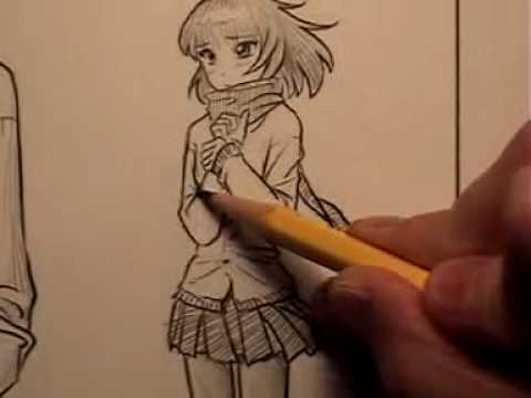 How to Draw Clothes for Manga/Comic Books, Part 1 Video