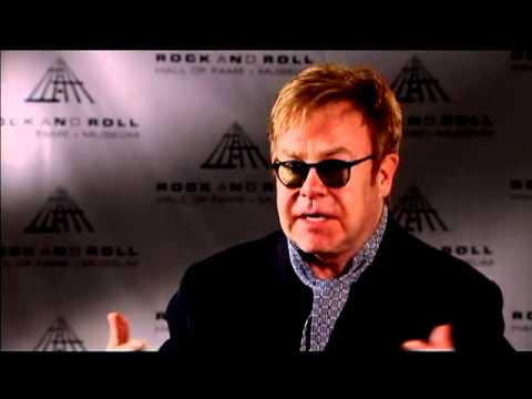 Elton John on the class of 2011 Inductees