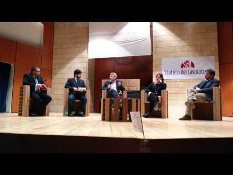 M. Landini a Matera con Statutodeilavoratori