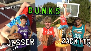 *INJURY ALERT* GAME OF D.U.N.K.S vs. JESSER & ZACKTTG