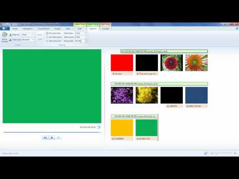 How to add and edit the audio in windows live movie maker