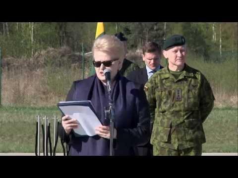 Lithuanian President Dalia Grybauskaitė Speech