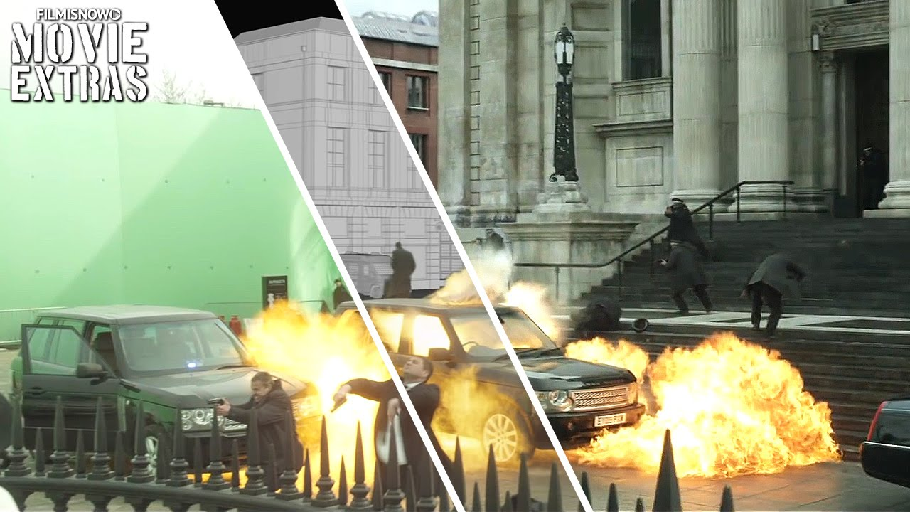 London Has Fallen - VFX Breakdown by Worldwide FX (2016)
