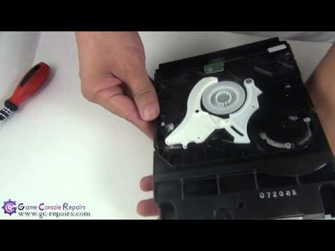 PS3PHAT   60GB CECHC02   How to remove a disc manually & reset the Blu Ray Drive by gc repairs com