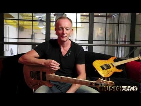 Phil Collen of Def Leppard at The Music Zoo