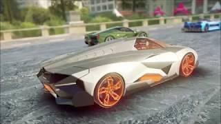Asphalt 9: Lamborghini Terzo Mıllennıo Stage 9 : (1.18.073)Lamborghini Egoista