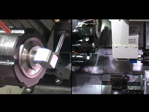 Methods Machine Tools Nakamura-Tome WT-100 Milling Lathe Demonstration