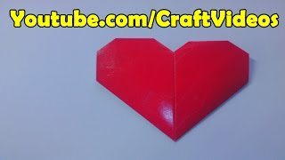 How to make Origami Heart easy and step by step