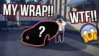 WRAPPING MY $100,000 MERCEDES A CRAZY COLOR!! *OFFICIAL REVEAL*